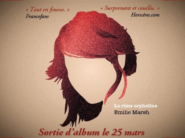 Emilie Marsh La Rime Orpheline