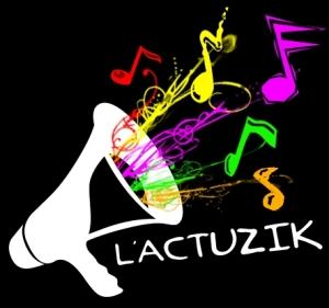 Logo Actuzik Nom Noir